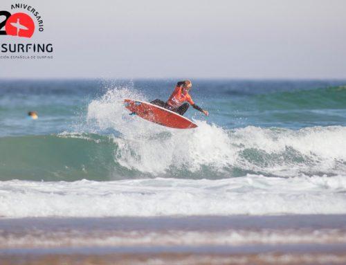 Actualizado el ranking del circuito Fesurfing Junior Series de la temporada 2021