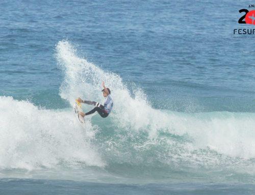 Gran participación de inscritos en la prueba del circuito nacional Fesurfing Junior Series