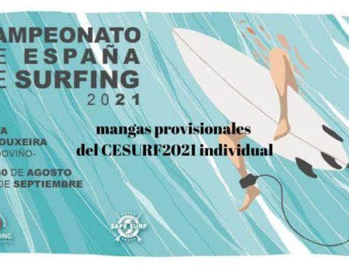 Ya está aquí la cita más importante del surf nacional, el Campeonato de España de Surfing 2021